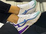 Жіночі кросівки Nike Air Max 270 React Gradient Shift White/Blue-Purple AT6174-102, фото 5
