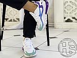 Жіночі кросівки Nike Air Max 270 React Gradient Shift White/Blue-Purple AT6174-102, фото 7