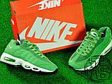 Мужские кроссовки Nike Air Max 95 Green/White 307960-300, фото 2