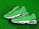 Мужские кроссовки Nike Air Max 95 Green/White 307960-300, фото 4