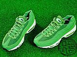 Мужские кроссовки Nike Air Max 95 Green/White 307960-300, фото 5