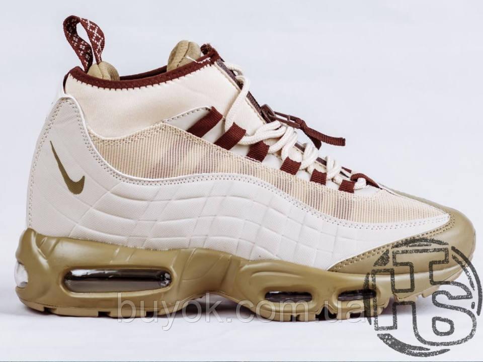 Чоловічі кросівки Nike Air Max 95 Sneakerboot Khaki/Matte Olive 806809-200
