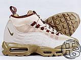 Чоловічі кросівки Nike Air Max 95 Sneakerboot Khaki/Matte Olive 806809-200, фото 3