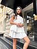 Женское стильное приталенное легкое платье