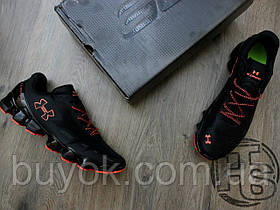 Мужские кроссовки Under Armour UA Scorpio Black/Orange 1258007-433 41