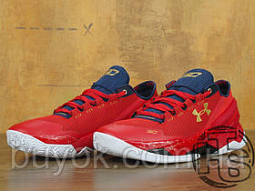 Мужские кроссовки Under Armour Curry 2 Low Gym Red/Navy White