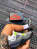 Чоловічі кросівки Air Jordan 4 Retro SE Neon (чоловічі Аїр Джордан 4 Ретро Неон) CT5342-007, фото 7