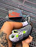 Чоловічі кросівки Air Jordan 4 Retro SE Neon (чоловічі Аїр Джордан 4 Ретро Неон) CT5342-007, фото 9