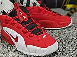 Чоловічі кросівки Nike Air Max Penny 1 Rival Pack Red/White-Black 685153-600, фото 3