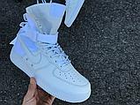 Чоловічі кросівки Nike Special Air Force Field 1 White 903270-100, фото 6
