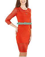 Нарядное красное платье Woow 42-48р