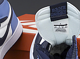Женские кроссовки Air Jordan 1 Retro High Obsidian UNC White Blue 555088-140, фото 6