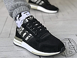 Мужские кроссовки Adidas ZX500 RM Black Camo BD7924, фото 2