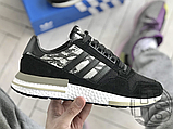 Мужские кроссовки Adidas ZX500 RM Black Camo BD7924, фото 3