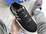 Мужские кроссовки Adidas ZX500 RM Black Camo BD7924, фото 8