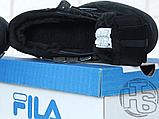 Мужские кроссовки Fila Disruptor II 2 Black Winter (с мехом) FW01653-018, фото 8
