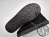 Чоловічі черевики UGG Neumel Suede Black Boots 3236, фото 5