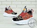 Жіночі кросівки Versace Chain Reaction 2 Chainz Spotted/Black Red DSU7071 D15VG, фото 6