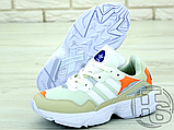 Жіночі кросівки Adidas Yung-96 White/Orange F97179, фото 3