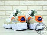 Жіночі кросівки Adidas Yung-96 White/Orange F97179, фото 4