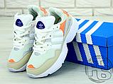 Жіночі кросівки Adidas Yung-96 White/Orange F97179, фото 5