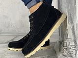 Мужские ботинки UGG David Beckham Suede Boots Black, фото 2