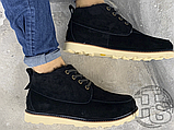 Мужские ботинки UGG David Beckham Suede Boots Black, фото 3