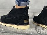 Мужские ботинки UGG David Beckham Suede Boots Black, фото 5