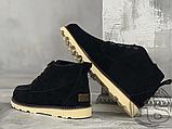 Мужские ботинки UGG David Beckham Suede Boots Black, фото 6