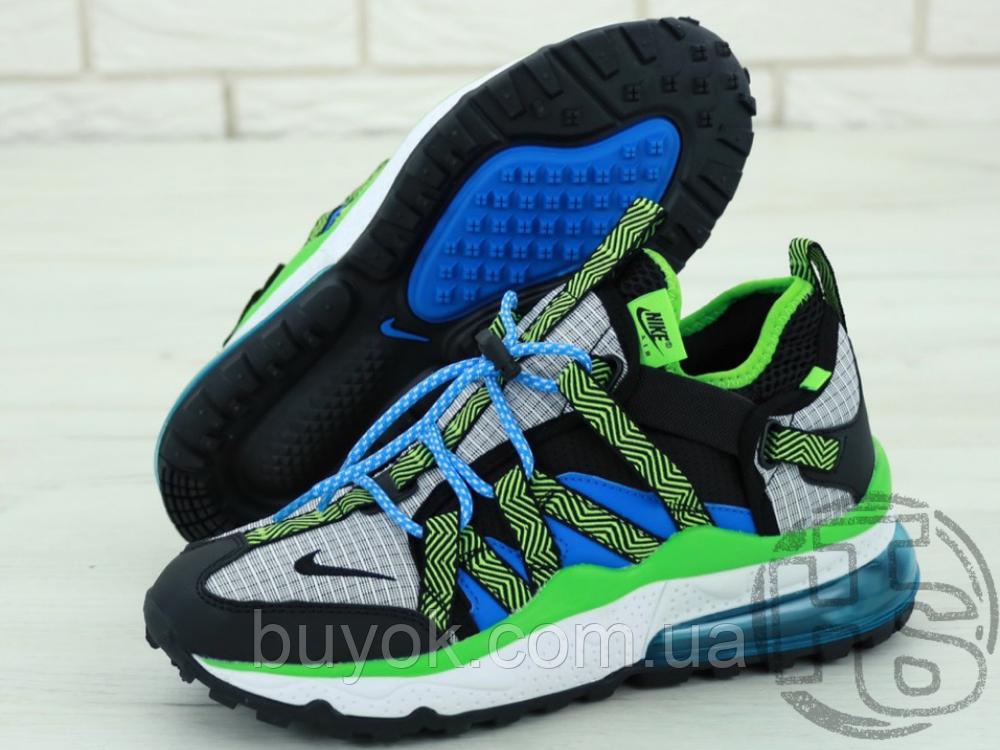 Чоловічі кросівки Nike Air Max 270 Bowfin Photo Black Blue AJ7200-002