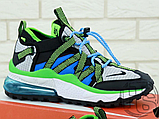 Чоловічі кросівки Nike Air Max 270 Bowfin Photo Black Blue AJ7200-002, фото 3