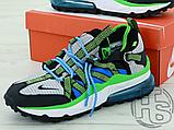 Чоловічі кросівки Nike Air Max 270 Bowfin Photo Black Blue AJ7200-002, фото 5