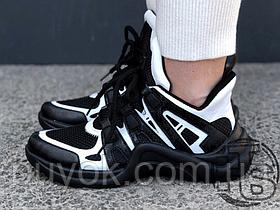 Женские кроссовки Louis Vuitton LV Archlight Sneaker Black/White 1A43K5