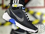 Мужские кроссовки Nike Hyper Adapt 1.0 EARL Black/White/Blue 843871-001, фото 4