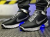 Мужские кроссовки Nike Hyper Adapt 1.0 EARL Black/White/Blue 843871-001, фото 5