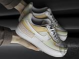 Женские кроссовки Nike Air Force 1 Shadow Spruce Aura White Beige Rose CK3172-002, фото 2