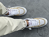 Женские кроссовки Nike Air Force 1 Shadow Spruce Aura White Beige Rose CK3172-002, фото 4