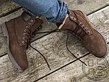 Чоловічі черевики Timberland 6-Inch Premium Boot Brown (з хутром), фото 2