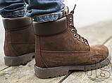 Чоловічі черевики Timberland 6-Inch Premium Boot Brown (з хутром), фото 6