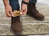 Чоловічі черевики Timberland 6-Inch Premium Boot Brown (з хутром), фото 7