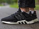 Мужские кроссовки Adidas EQT Support 91/18 Black White B37520, фото 3