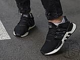 Мужские кроссовки Adidas EQT Support 91/18 Black White B37520, фото 6