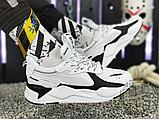 Мужские кроссовки Puma RS-X Core Black White 369666-01, фото 2