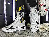Мужские кроссовки Puma RS-X Core Black White 369666-01, фото 5