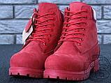 Жіночі черевики Timberland Classic Boots Bordo Winter (з хутром), фото 4