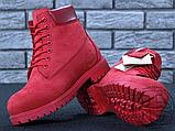 Жіночі черевики Timberland Classic Boots Bordo Winter (з хутром), фото 6