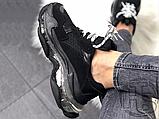 Жіночі кросівки Balenciaga Triple S Clear Sole Black 541624W09O11000, фото 3