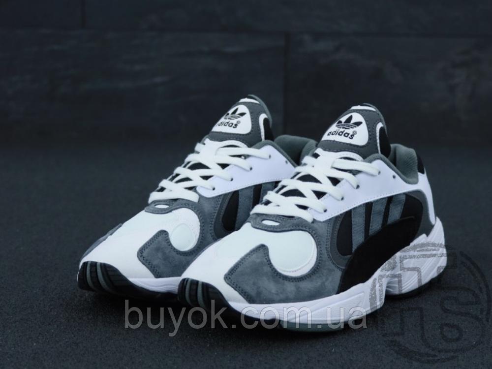 Чоловічі кросівки Adidas Yung-1 White Grey Black