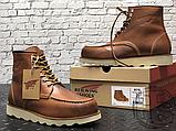 Чоловічі черевики Red Wing USA Classic Moc 6-inch Boot 8424890 Brown 875, фото 2