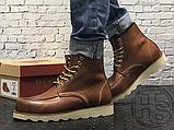 Чоловічі черевики Red Wing USA Classic Moc 6-inch Boot 8424890 Brown 875, фото 4
